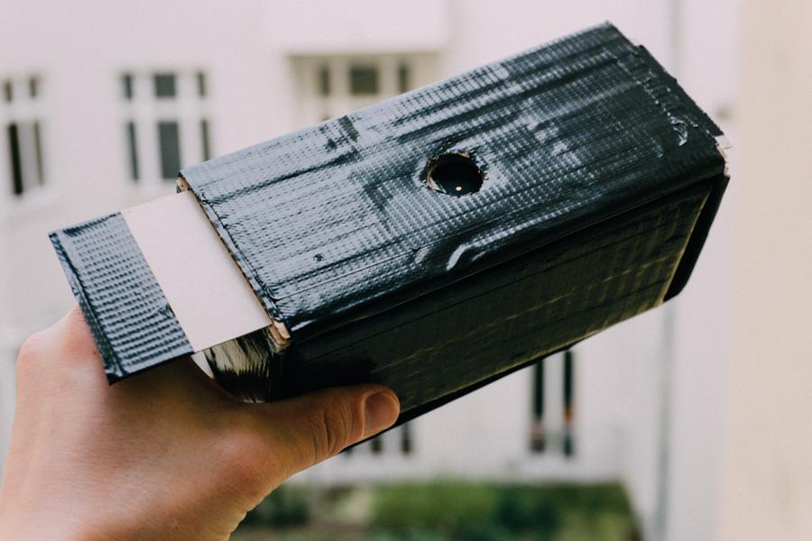 Hervorragend Zum Prinzip der Camera Obscura und ihrer Entstehung - Blog Camera WD59