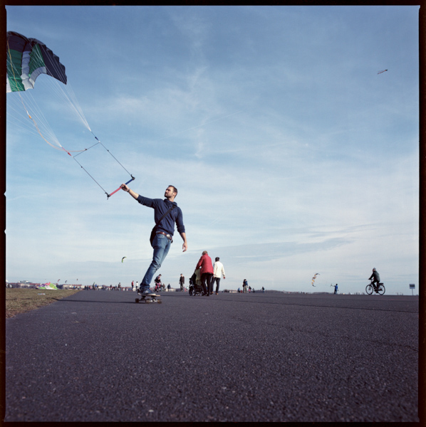 Hasselblad Streetphotography Tempelhofer Feld