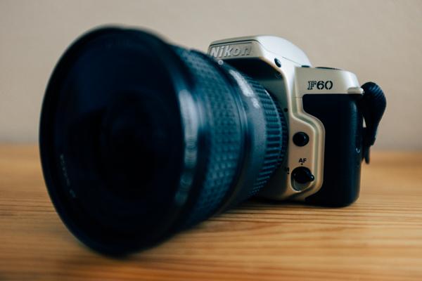 Analoge Spiegelreflexkamera Nikon F60