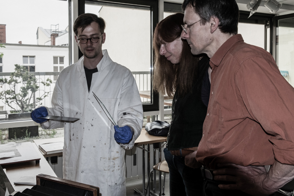 Details zum Kollodium Nassplatten Verfahren